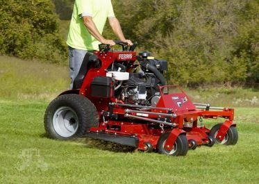 New Ferris Stand On Mowers
