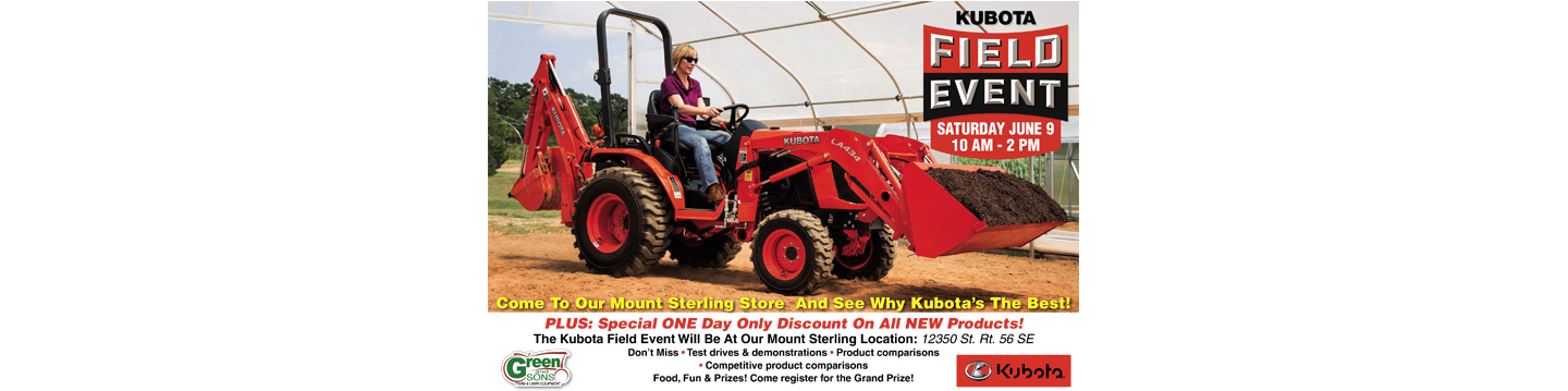 Kubota Field Event
